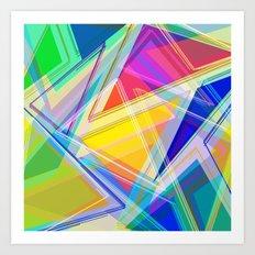 ∆Mix Art Print