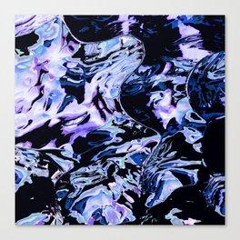Shattered velvet Canvas Print