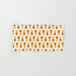 Cute Orange Squid Hand & Bath Towel
