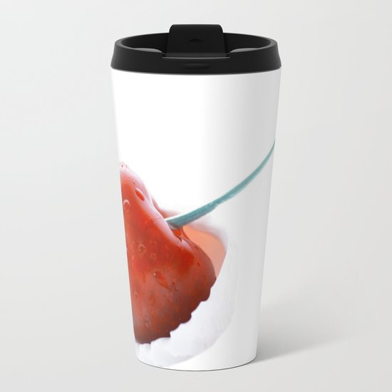 Only one cherry Metal Travel Mug