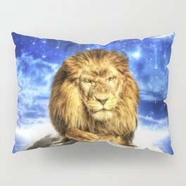 Grumpy Lion Pillow Sham