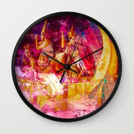 """"""" Of two things the moon the other one, it is the sun. """" Wall Clock"""