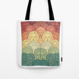 expanded good vibrations ! Tote Bag
