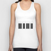 new york Tank Tops featuring New York, New York by mark ashkenazi