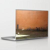 bikes Laptop & iPad Skins featuring bikes by Bg portretti