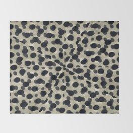 Metallic Camouflage Throw Blanket