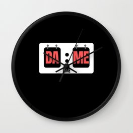 Dame Time Score Board Wall Clock
