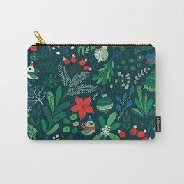 Merry Christmas pattern Carry-All Pouch
