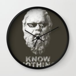 Know Nothing Wall Clock