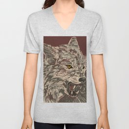 Enraged Unisex V-Neck