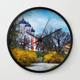 Tallinn art 4 #tallinn #city Wall Clock