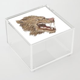 Head with sharp teeth Acrylic Box