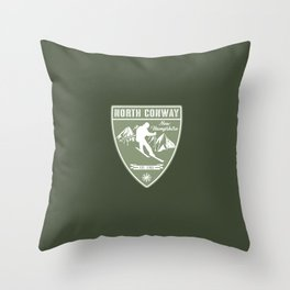 North Conway New Hampshire Throw Pillow