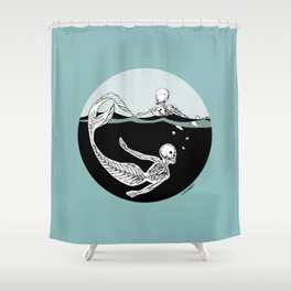 Stone Cold Sea Dwellers Shower Curtain