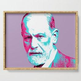 Sigmund Freud Serving Tray