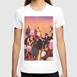 Barbecue by Archibald Motley T-shirt