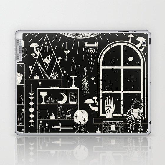 Moon Altar Laptop & iPad Skin