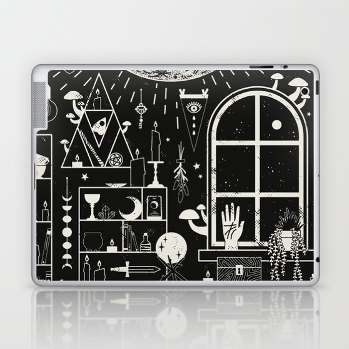 Moon Altar Laptop & iPad Skin