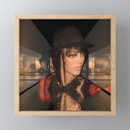 fashion doll -7- Framed Mini Art Print