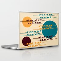 birdy Laptop & iPad Skins featuring birdy by BruxaMagica_susycosta