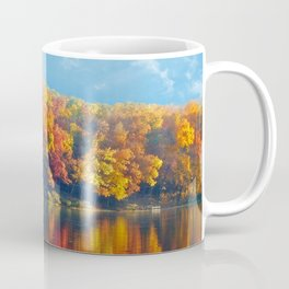 Autumn Colors at Lake Killarney Coffee Mug