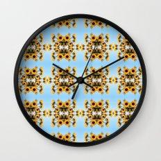 Black-eyed Susans Wall Clock