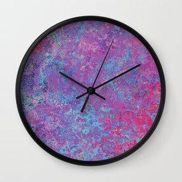 Acid Wash Wall Clock