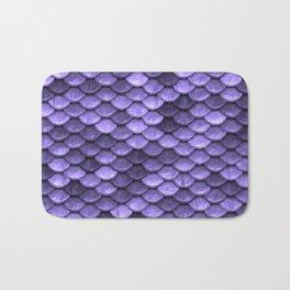 Mermaid Scales Periwinkle Ultra Violet Bath Mat