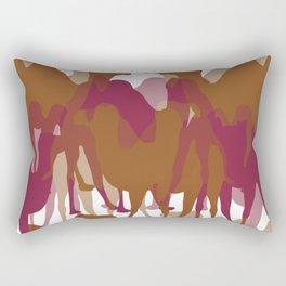 My Culture- Camel in the Desert Rectangular Pillow