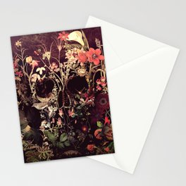 Bloom Skull Stationery Cards