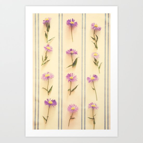 Flower Army Art Print