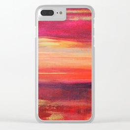 The Golden Lining Clear iPhone Case