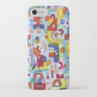 game iPhone & iPod Cases featuring Game by Tanja K