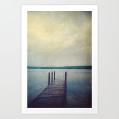 Echoes of Silence Art Print