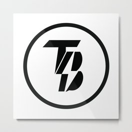 Treu Bleu Media Merchandise Metal Print
