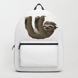 Hanging Sloth Pirate Cartoon Backpack
