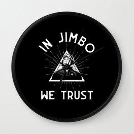 Jimbo Football Wall Clock