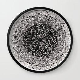 Wire Matrix  Wall Clock