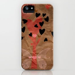 Little tree of love iPhone Case