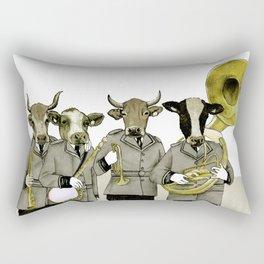 Herd Behavior Rectangular Pillow