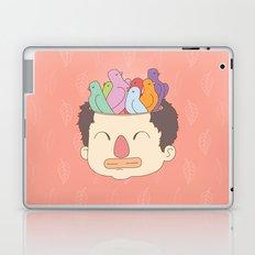 pájaros en la cabeza Laptop & iPad Skin