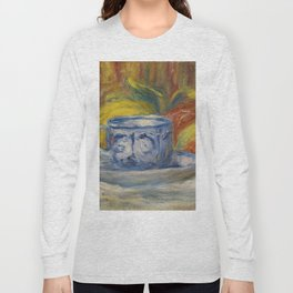 "Auguste Renoir ""Tasse et fruits (Cup and fruits)"" Long Sleeve T-shirt"