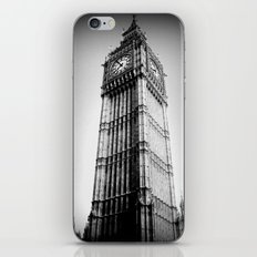 Ben looms in black and white, too. iPhone & iPod Skin