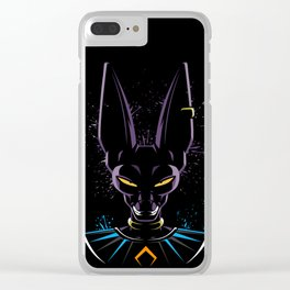 God of destruction Clear iPhone Case