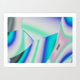 Irregular Icosahedron Art Print