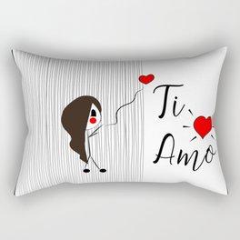 ti amo Rectangular Pillow