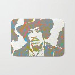 Psychedelic Hendrix Bath Mat
