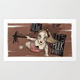 Bad Ass Alice   Art Print