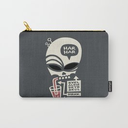 Evel Alein Deth Skul Dirnk Blod Carry-All Pouch