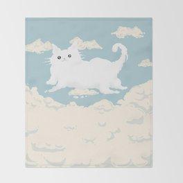 Cat Cloud Throw Blanket
